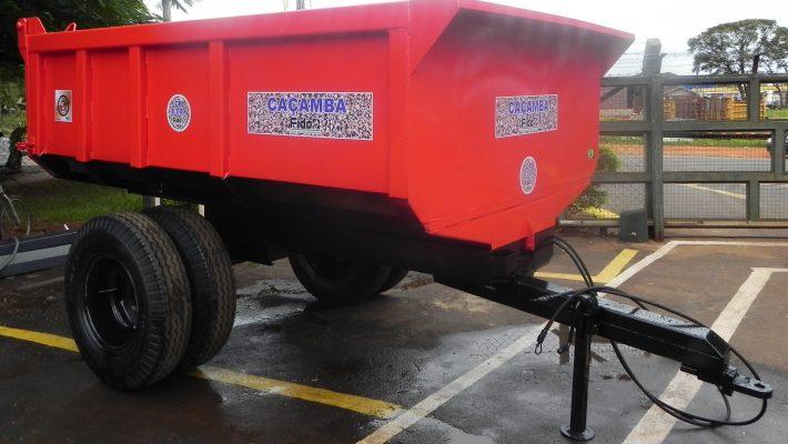 Carreta Caçamba