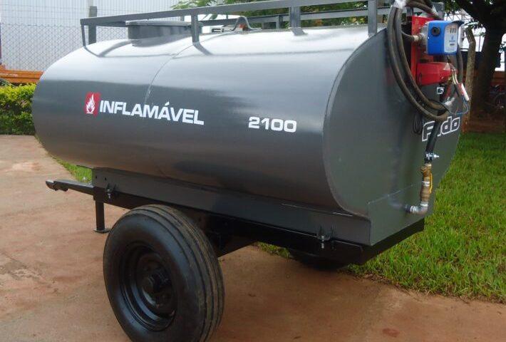 Carreta Tanque Para Óleo Diesel